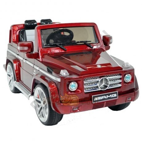 Электромобиль RT Mercedes-Benz DMD-G55 AMG (красный)