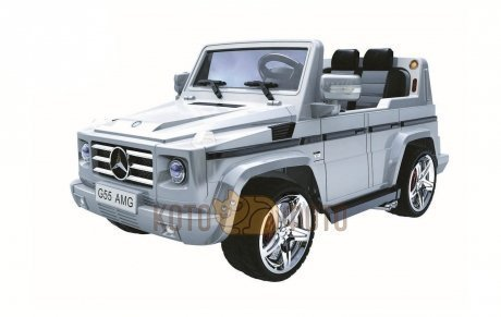 Электромобиль RT Mercedes-Benz DMD-G55 AMG (серебро)