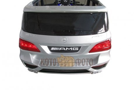 Электромобиль RT Mercedes-Bens ML63 AMG (серебро)