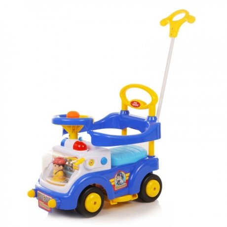 Каталка детская Baby Care Fire Engine Синий (Blue)