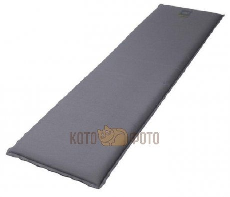 Коврик Bayard Selfi M 51 T grey/black, самонадувающийся