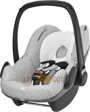 Кресло-переноска bebe confort BEBE CONFORT PEBBLE.РУППЫ Гр. 0+ Цвет: GRAPHIC CRYSTAL 63037321