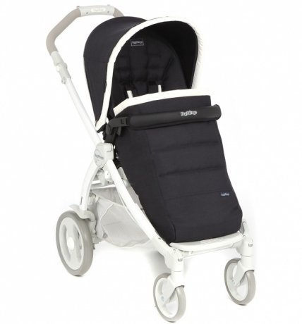 Коляска прогулочная Peg-Perego Completo Book Plus Pop Up Completo с шасси Book Plus 51 White Luxe Bl