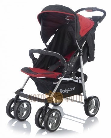 Коляска прогулочная Baby care Voyager, (Red)