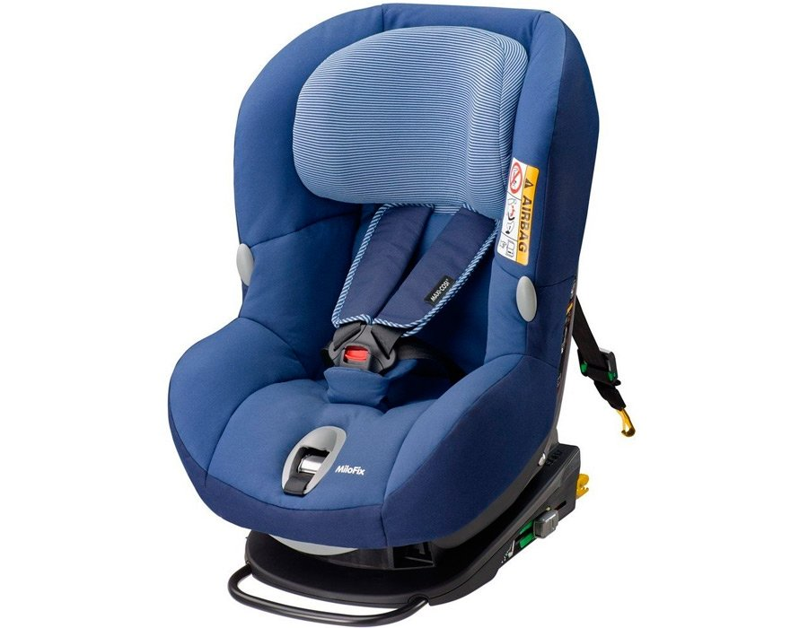 Автокресло Maxi-Cosi Milo Fix Raven Black 85368952