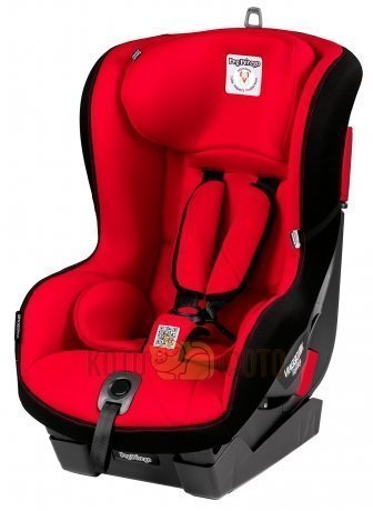 Автокресло Peg-perego Viaggio Duo-Fix К Rouge красн plusчерн