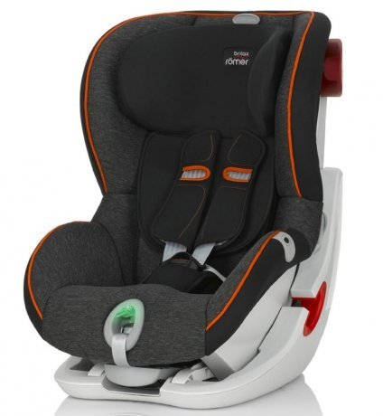 Детское автокресло Britax Roemer King II ATS Black Marble Highline от Kotofoto