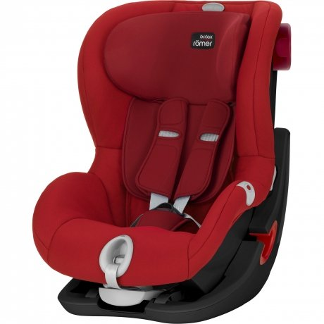 Детское автокресло Britax Roemer King II LS Black Series Flame Red Trendline от Kotofoto
