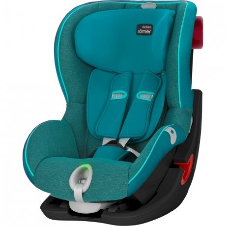 Детское автокресло Britax Roemer King II LS Black Series Green Marble Highline от Kotofoto