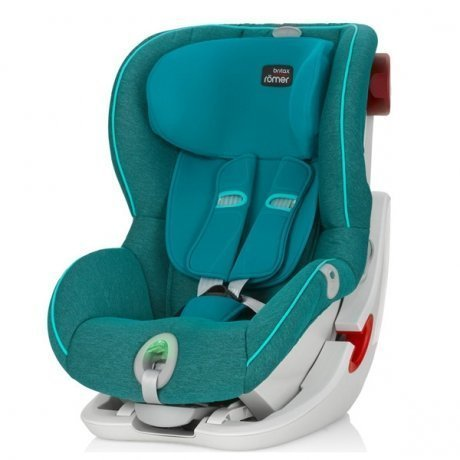 Детское автокресло Britax Roemer King II ATS Green Marble Highline от Kotofoto