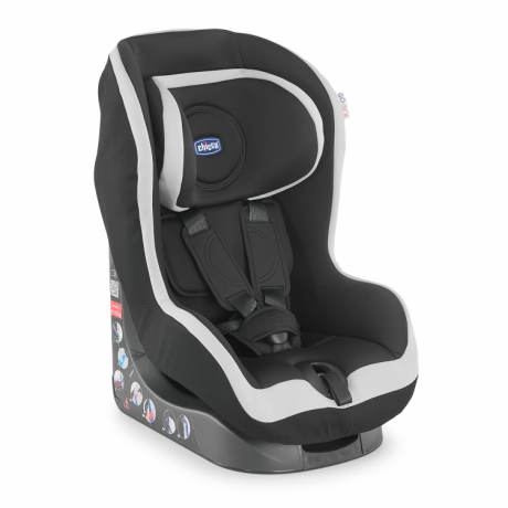 Автокресло Chicco GO-ONE ISOFIX COAL гр.1 12м+