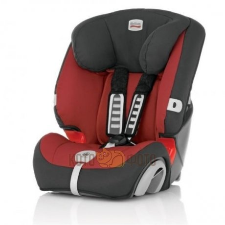 Автокресло Britax Evolva 1-2-3 plus Chili Pepper Trendline