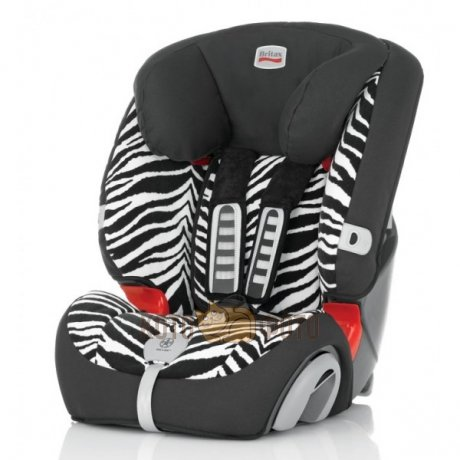 Автокресло Britax Evolva 1-2-3 plus Smart Zebra Highline