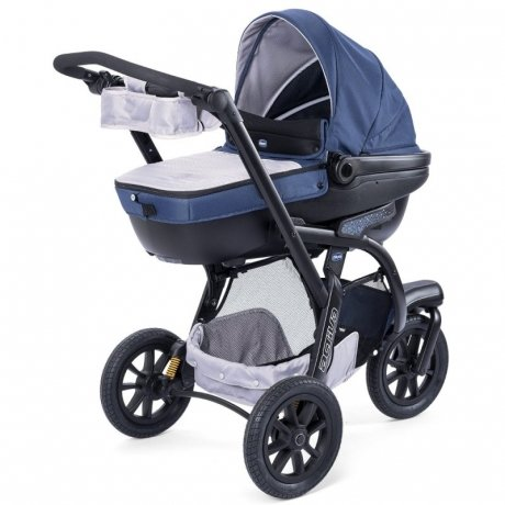 Коляска 3 в 1 Chicco Trio Activ3 Blue passion