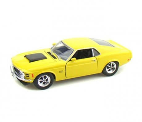 Машинка Motormax 1:24 1970 Ford Mustang Boss 429