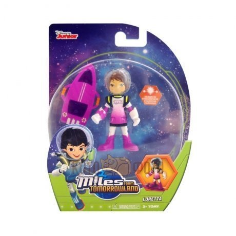 Фигурка Tomy Miles from Tomorrowland 86105, Лоретта, 7 см