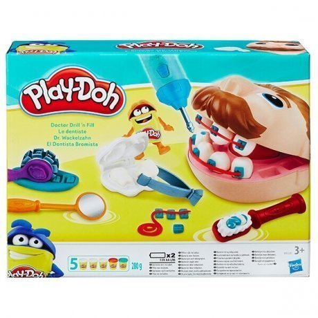 Набор пластилина Hasbro Play-Doh Мистер Зубастик (новая версия) play doh hasbro набор 3 4 баночки