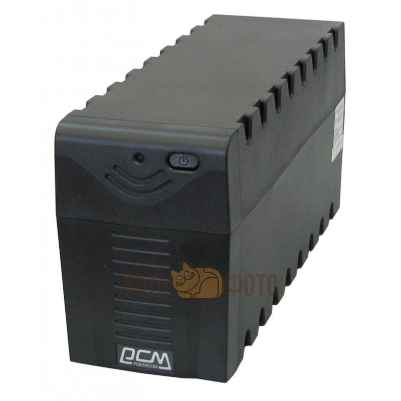 ИБП Powercom RPT-800A 480W черный 3*IEC320