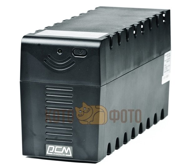 ИБП Powercom RPT-1000A 600W черный 3*IEC320