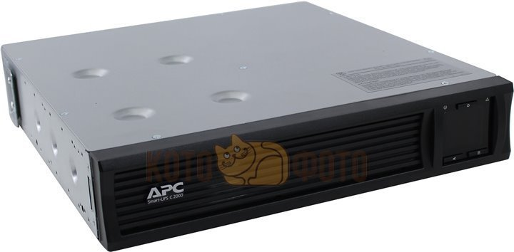 ИБП APC Smart-UPS C SMC2000I-2U 2000VA черный 1300 Watts, Входной 230V /Выход 230V, Interface Port U ибп apc by schneider electric smart ups c 2000 smc2000i 2u