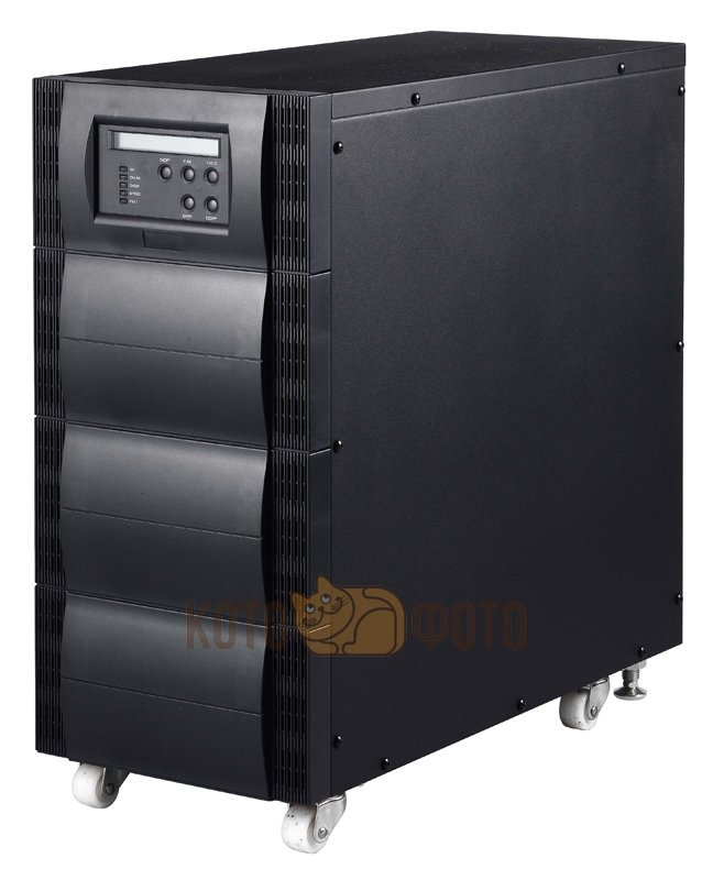 ИБП PowerCom VGS-6000 5400W черный IEC320 8*C13+2*C19 ибп powercom vgs 1500xl