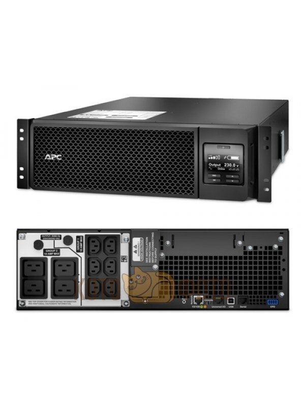 ИБП APC Smart-UPS SRT (SRT5KRMXLI) Extended runtime model ибп apc smart ups srt 2200va 1980w черный srt2200rmxli nc
