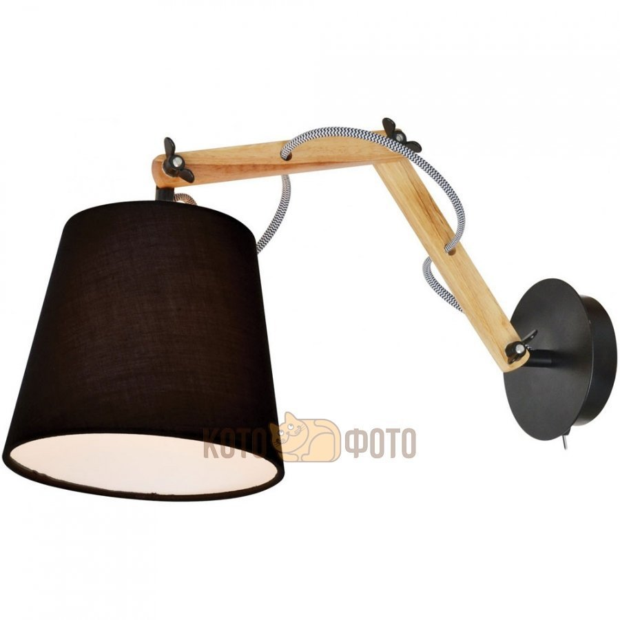 Бра Arte lamp Pinocchio A5700AP-1BK бра arte lamp california