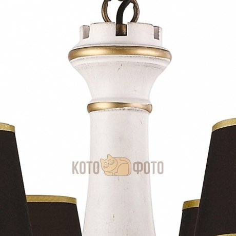 Люстра Arte Lamp Fortezza A1843LM-8BG