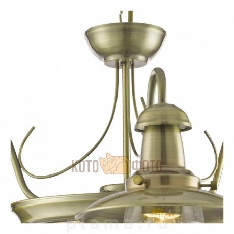 Люстра Arte Lamp FISHERMAN A5518LM-2-3AB