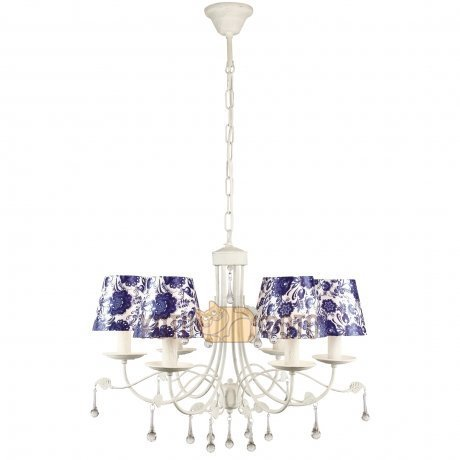 Люстра Arte Lamp MOSCOW A6106LM-6WH