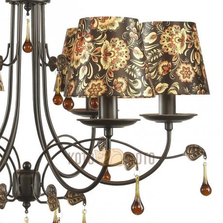 Люстра Arte Lamp MOSCOW A6106LM-6BK