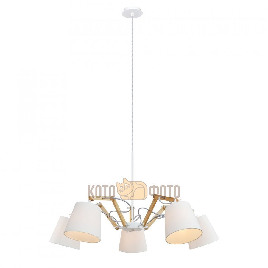 Люстра Arte lamp Pinocchio A5700LM-5WH фото