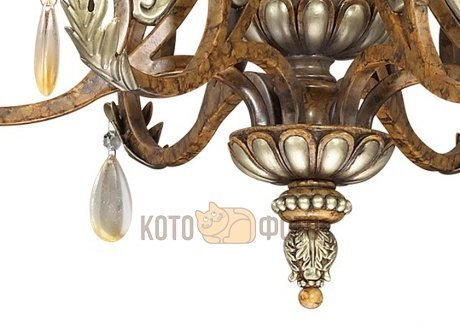 Люстра Odeon Light RUFFIN 2455/6