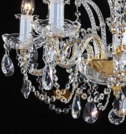 Люстра Maytoni Diamant crystal ARM907-05-G