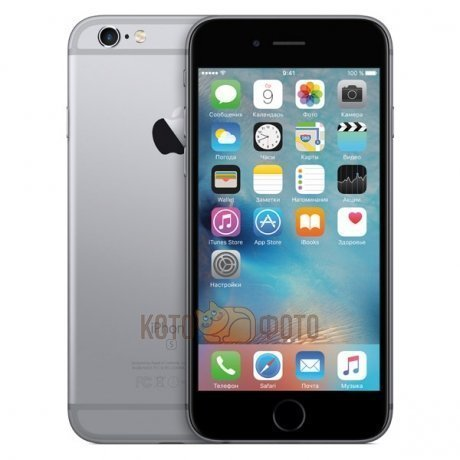 Купить Смартфон Apple iPhone 6s 128Gb Space Gray (MKQT2RU/A)