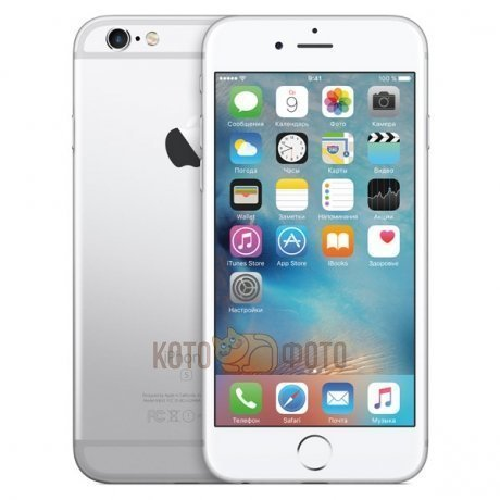 Смартфон Apple iPhone 6s 16GB Silver (MKQK2RU|A)