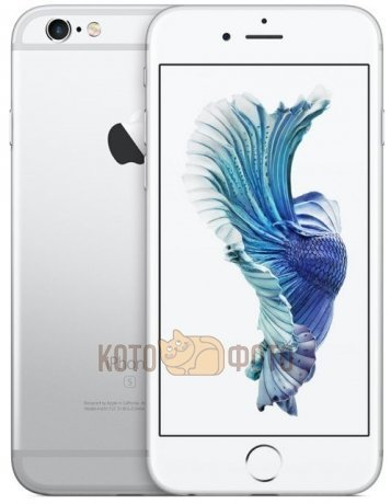 Смартфон Apple iPhone 6s Plus 64GB Silver (MKU92RU|A)