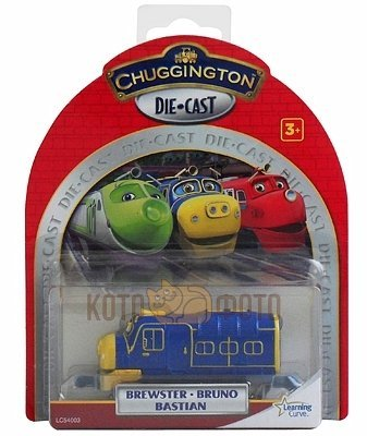 Паровозик Chuggington Брюстер