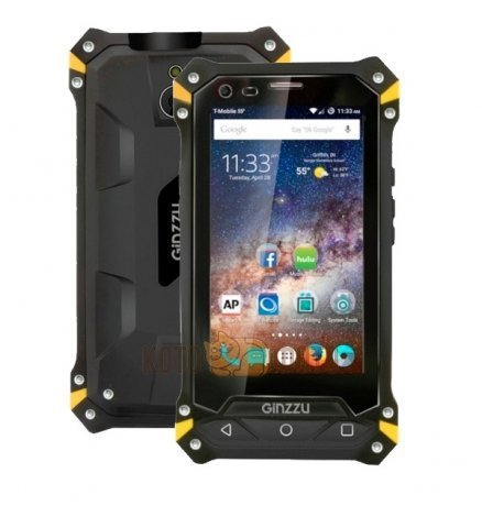 Смартфон Ginzzu RS74D Black