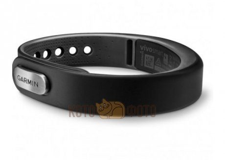 Фитнес-браслет Garmin VivoSMART Black, small EEU+ME с кириллицей (010-01317-06)