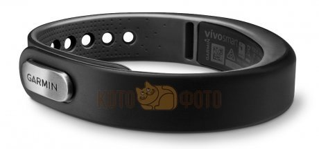 Фитнес-браслет Garmin VivoSMART Slate, large, Bundle (010-01317-55)