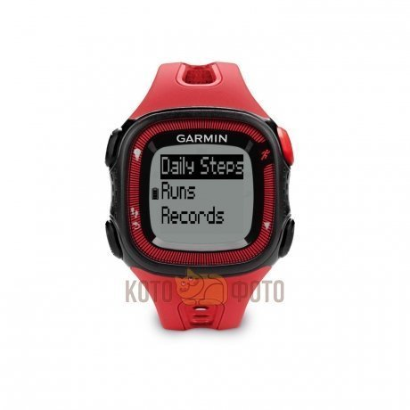 Спортивные часы Garmin Forerunner 15 Black/Red HRM1 (010-01241-51)
