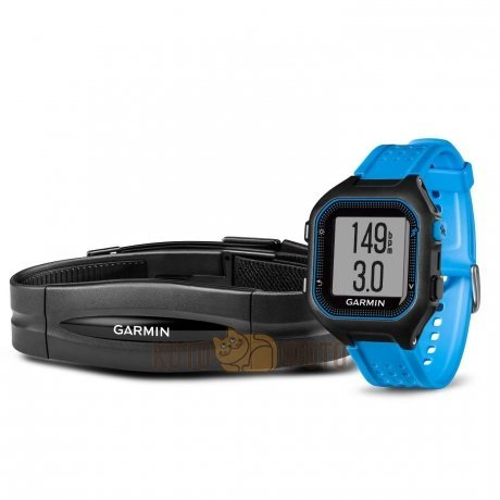 Спортивные часы Garmin Forerunner 25 BlackBlue, large, BUNDLE (010-01353-51)