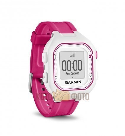 Спортивные часы Garmin Forerunner 25 WhitePink, small (010-01353-31)