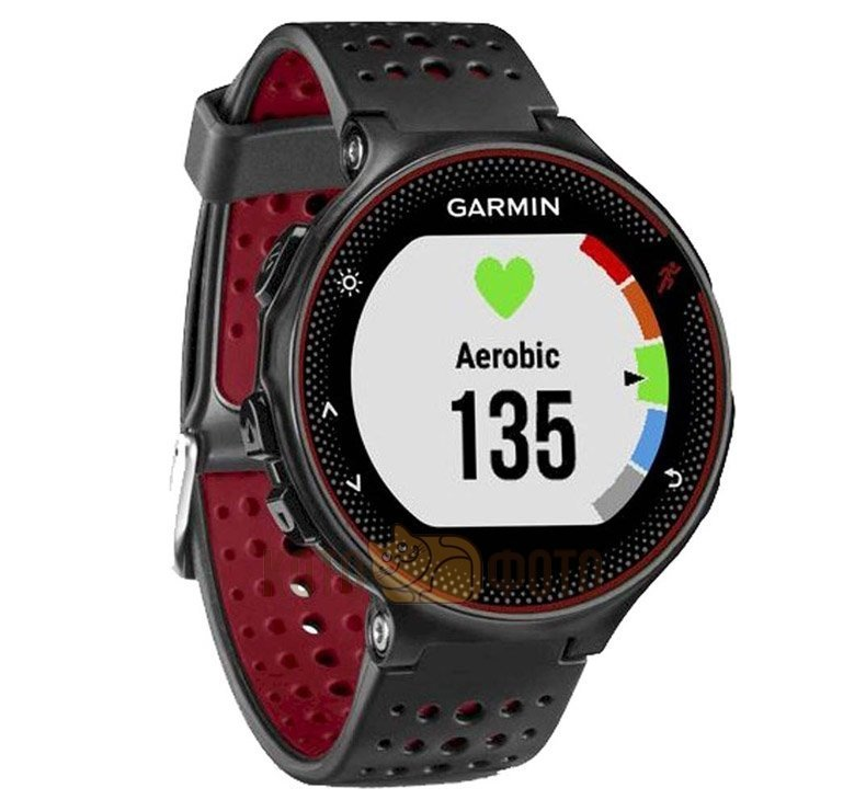 Спортивные часы Garmin Forerunner 235 Black/Marsala Red цена