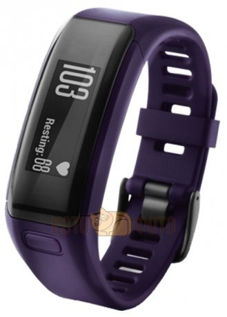Фитнес-браслет Garmin VivoSMART HR Purple, regular (010-01955-13)
