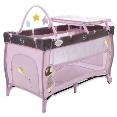 Манеж Asalvo Travel Cot Mix Plus Kite 11299