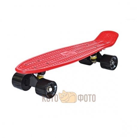 Скейтборд 2-13 Y-SCOO Penny board RT 22 Classic red