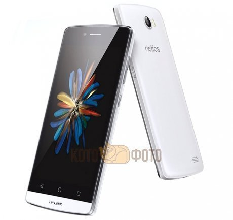 Смартфон Neffos C5 White + Powerbank 5200