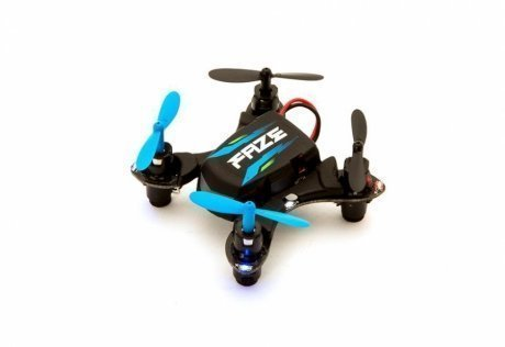 Фотография товара квадрокоптер HobbyZone Faze RTF Ultra Small Quad V2 HBZ8800 Black (115569)